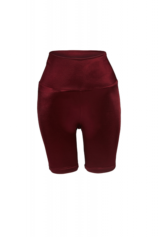 Claret red knitted mini