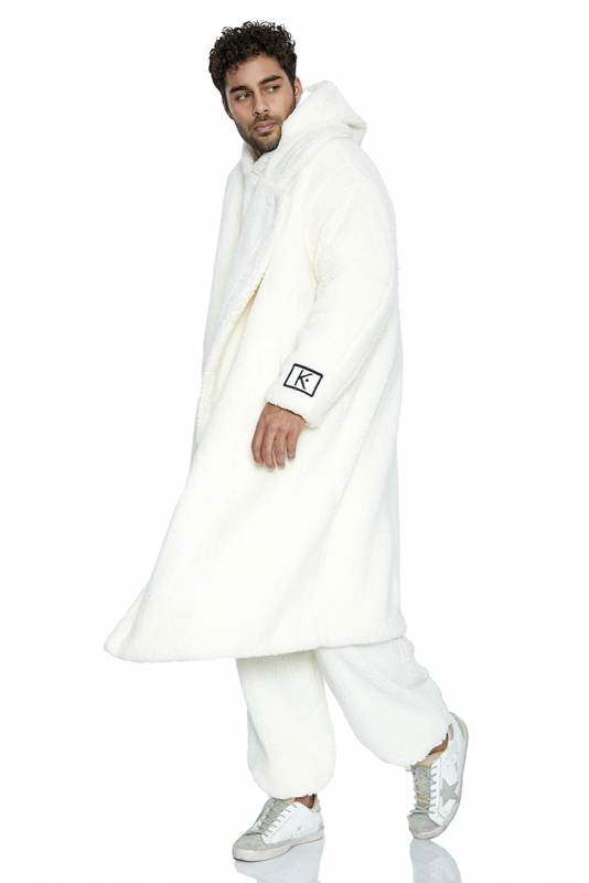 White long sleeve long jacket