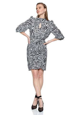 empirme long sleeve midi dress