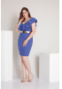 Sax plus size dress